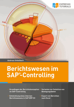 Cover Berichtswesen im SAP Controlling