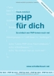Cover PHP f�r dich