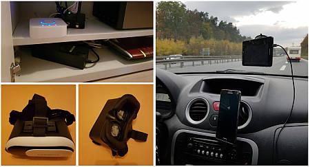 Smartphone, Navigation und VR