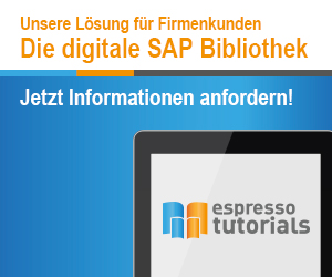Espresso Tutorial - Die digitale SAP Bibliothek