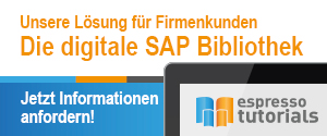 Die digitale SAP Bibliothek - SAP eBook Flatrate