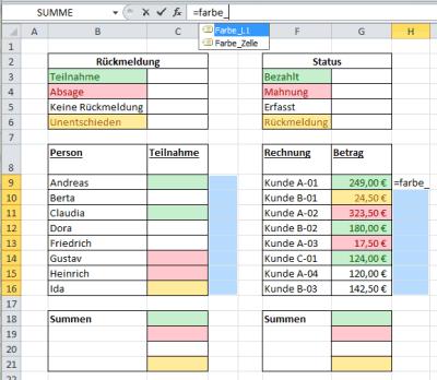 Formel farbe_L1 zur Berechnung der Hintergrundfarbe