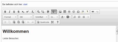 Editor CKGEdit für Dokuwiki