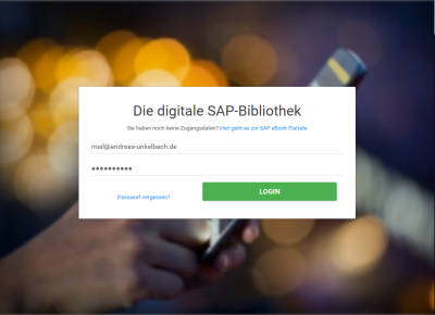 Die digitale SAP-Bibliothek LOGON