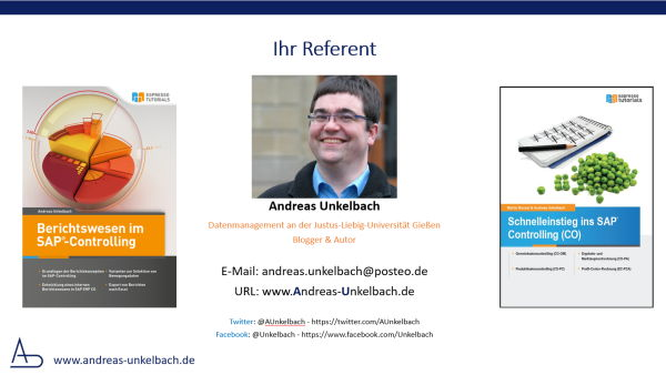 Referent Andreas Unkelbach