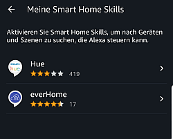 Amazon Alexa Smart Home Skills