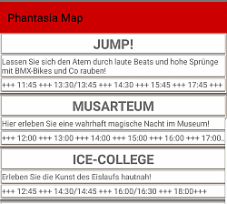 Phantasia Map SHOWS