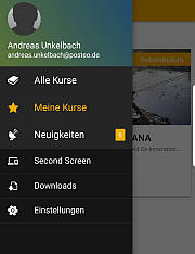 Android openSAP Ansicht