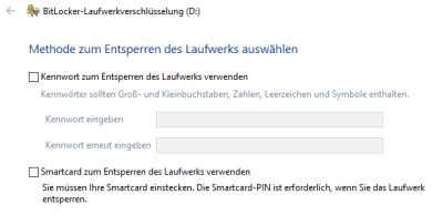 Bitlocker Methode