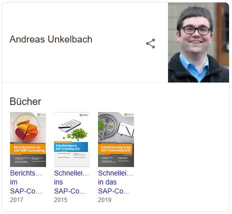 Google Knowledge Graph - Andreas Unkelbach