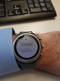 Authenticator 2FA an der Smartwatch