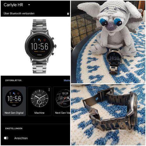 Neue Smartwatch Carlye HR Fossil Smartwatch FTW4024