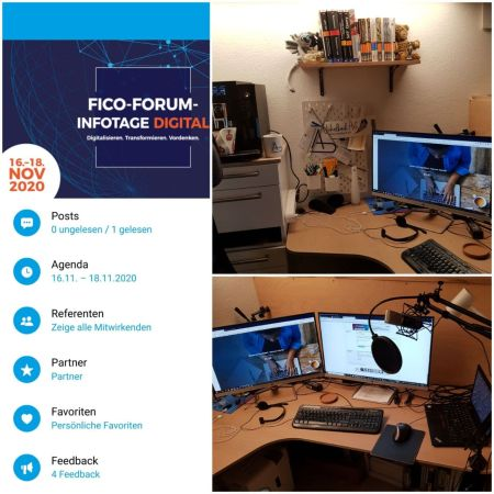FICO Forum Infotage Digital vor Ort