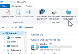 Windows Explorer - Dieser PC