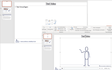 Video in Powerpoint einbinden